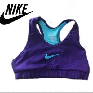 Nike Dri Fit Youth Sports Bra Sz. Large